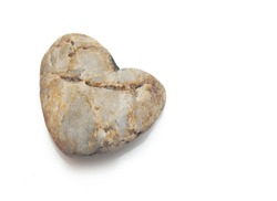 heart of stone, natural shaped stone