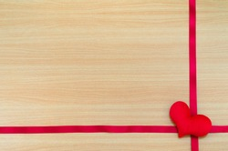 Heart on wooden board, valentines day concept, Valentines day background, Valentines day background with heart, gift for Valentines Day