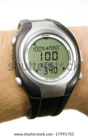 Heart rate monitor - giving 100%