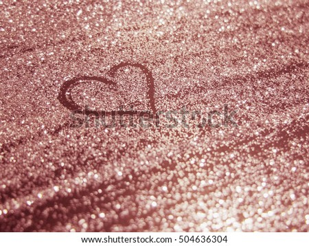 free photos rose gold glitter bokeh texture background avopix com