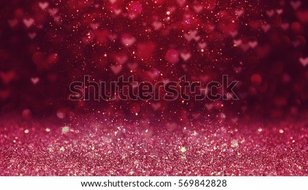 Hearts as background.Valentines day concept.