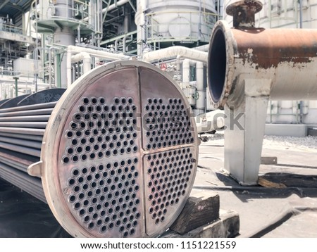 Heat exchanger shell and tube repairing in factories of petrochemical industrial #1151221559