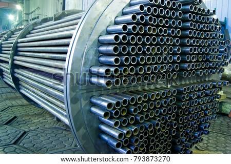 Heat exchanger, tube bundle