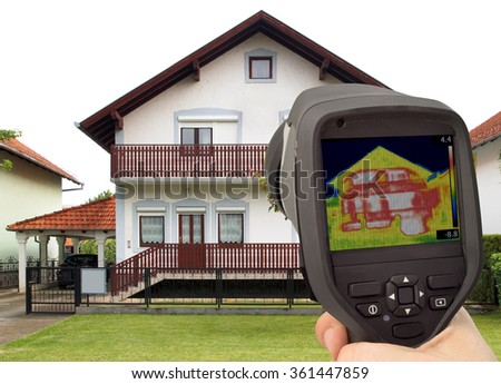 Heat Loss Detection of the House Facade With Infrared Thermal Camera