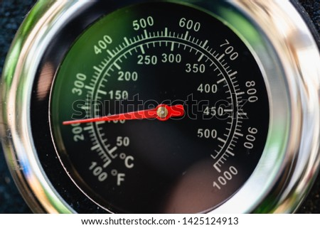 Heat temperature meter celsius / Fahrenheit #1425124913