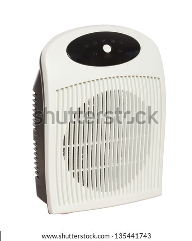 heater electric isolated on a white background