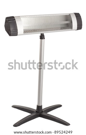 Heater, it is isolated on a white background