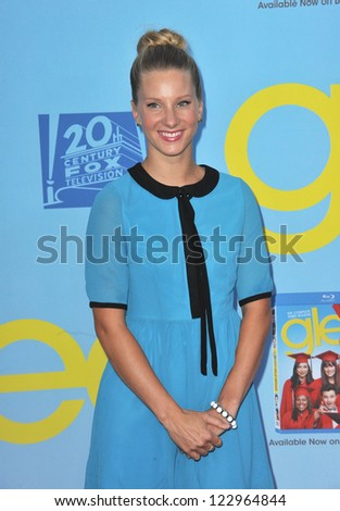 "Heather Morris at the season four premiere of ""Glee"" at Paramount Studios, Hollywood. September 12, 2012  Los Angeles, CA Picture: Paul Smith"