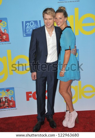 "Heather Morris & Chord Overstreet at the season four premiere of ""Glee"" at Paramount Studios, Holywood. September 12, 2012  Los Angeles, CA Picture: Paul Smith"