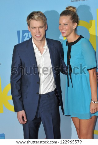 """Heather Morris & Chord Overstreet at the season four premiere of """"Glee"""" at Paramount Studios, Hollywood. September 12, 2012  Los Angeles, CA Picture: Paul Smith"""