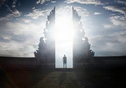 Heaven gates in pura Lempuyang ,Bali, Indonesia