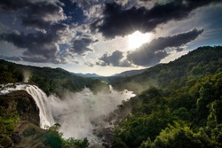 Heaven on earth, view from Athirapalli Waterfall in Kerala