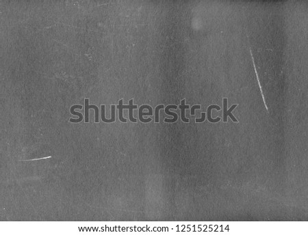 Heavily Scratched Gray Background, Dark Plastic Surface All in Scratches, for Texturing #1251525214
