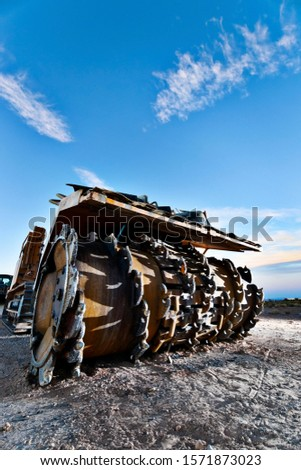 Heavy Construction Equipment Asphalt Remover #1571873023