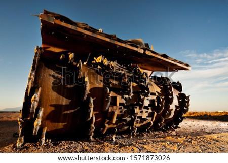 Heavy Construction Equipment Asphalt Remover #1571873026
