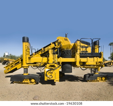 Heavy duty construction and building equipment