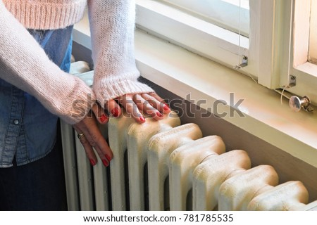 Heavy duty radiator - central heating - Shutterstock ID 781785535