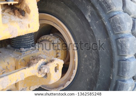 Heavy Equipment Wheels and tires