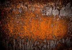 Heavy eroded metal texture, abstract grunge background