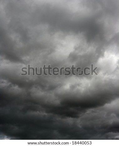heavy gale black stormy clouds
