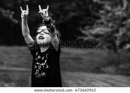 Heavy Metal Kid/Rock and Roll Child #673660963