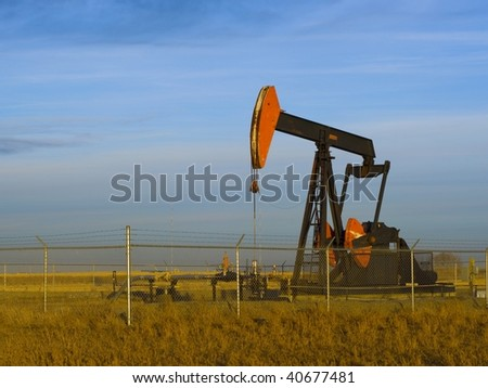 Heavy Oil Pump Jack