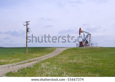 Heavy Oil Pump Jack