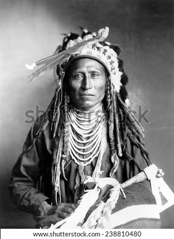 Heebe-tee-tse of the Shoshone Nation. Ca 1899