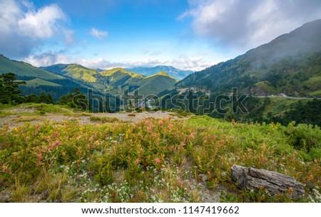 Hehuan Mountain ,TAIWAN Beautiful scenery