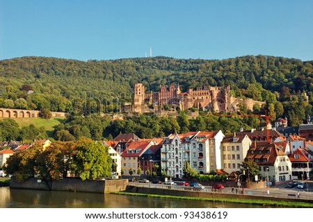 Heidelberg Castle and City