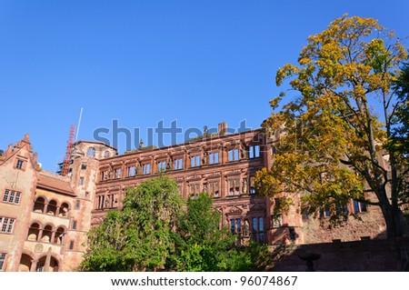 Heidelberg Castle in Germany