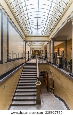 heidelberg, germany - october 17, 2015 - The old library of heidelberg university #335937530