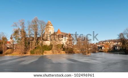 heidenreichstein castle - stock photo