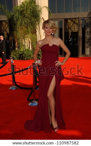 Heidi Klum  arriving at the 59th Annual Primetime Emmy Awards. The Shrine Auditorium, Los Angeles, CA. 09-16-07