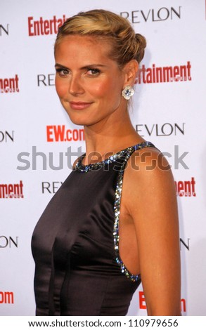 Heidi Klum  at Entertainment Weekly's 5th Annual Pre-Emmy Party. Opera and Crimson, Hollywood, CA. 09-15-07