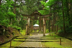 Heisenji Hakusan Jinja Shrine, Katsuyama City, Fukui Pref., Japan