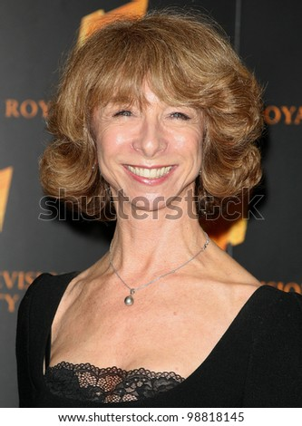 Helen Worth arriving for the RTS Awards, London. 20/03/2012 Picture by: Alexandra Glen / Featureflash