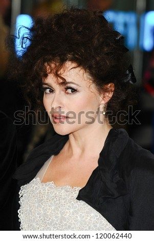 Helena Bonham Carter at the premiere for 'Frankenweenie' being shown as part of the London Film Festival 2012, London. 10/10/2012 Picture by: Steve Vas