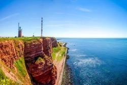 Helgoland, Lighthouse and Coast