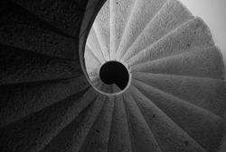 helical Spiral staircase stairs