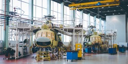 helicopter aviation plant