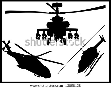 helicopter collection vectors