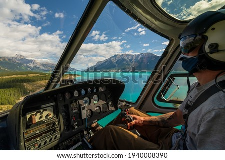 Helicopter Tour - Heli Tour - Banff Jasper National Park - Rocky Mountains - Alberta Canada