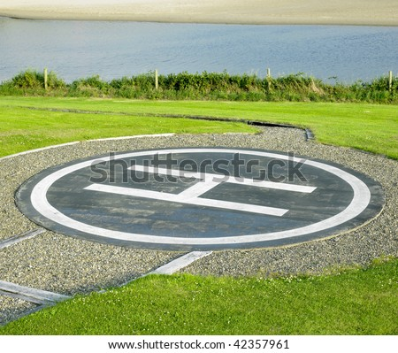 Helipad, County Clare, Ireland Stock Photo 42357961 : Shutterstock
