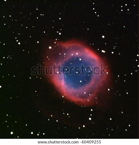 Helix Nebula, NGC7293 captured at Oak Flat 9-4-10