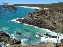 Hell's Gates in Noosa National Park in Australia