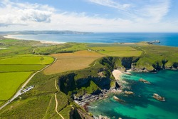 Hell's Mouth, North Cliffs, Cornwall, England