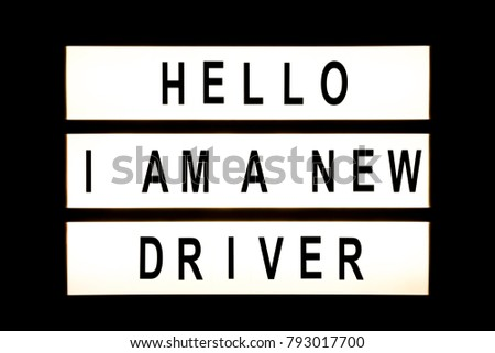 Hello I am new driver hanging light box sign board. #793017700