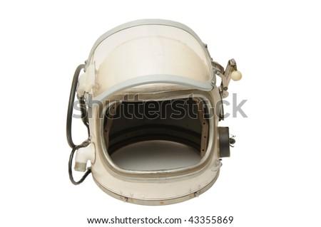 Helmet of the cosmonaut