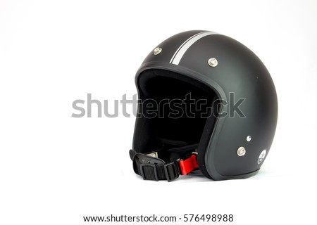 Helmets Racing Cafe styles vintage black.